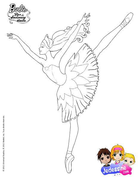 Coloriage et mes coloriages - Coloriage barbie danseuse ...