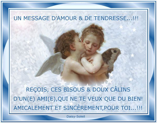 MESSAGE D'AMOUR & DE TENDRESSE...!!!