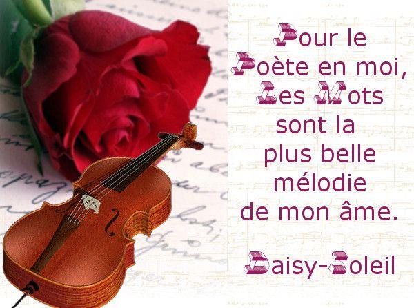 Accueilpoèmeles Mots Sont La Mélodie De Mon âme Poème