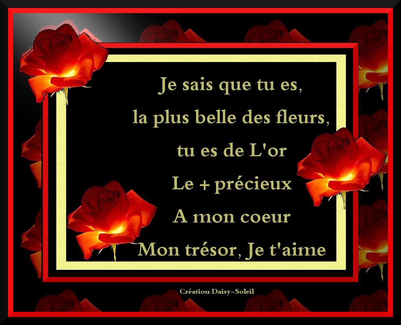 Poèmela Plus Belle Des Fleurs